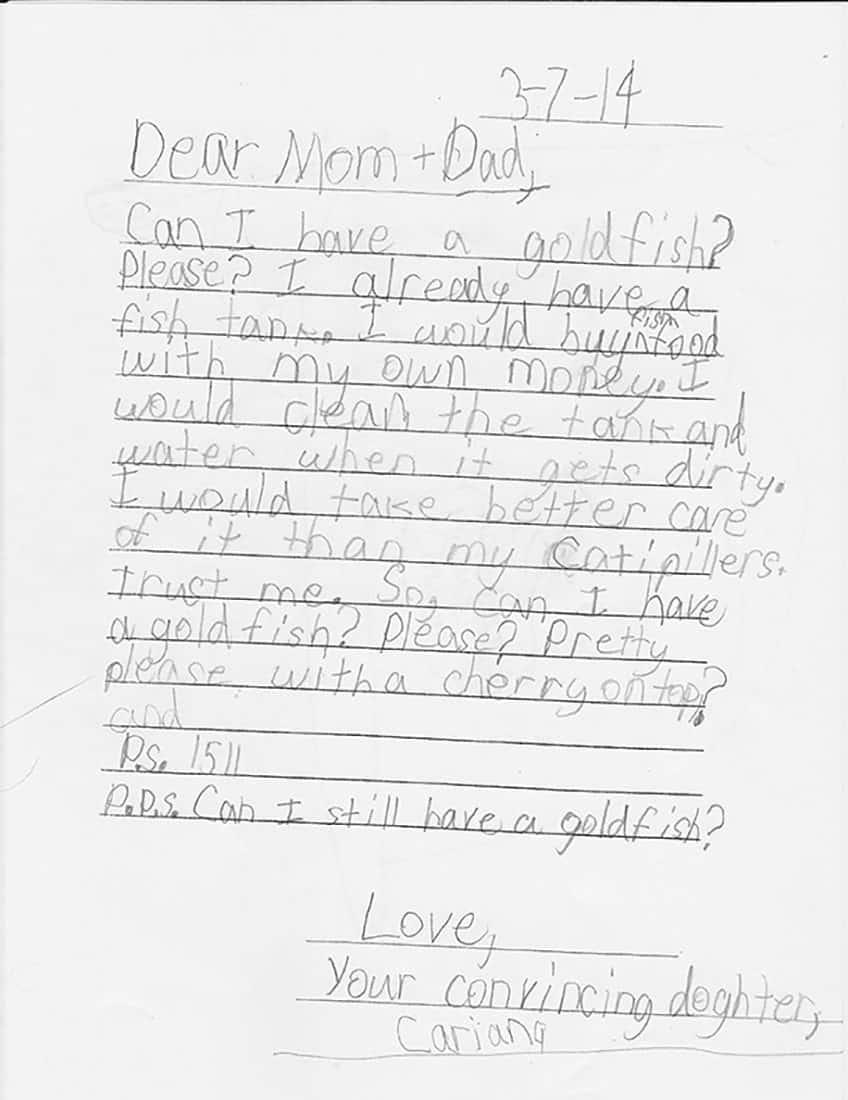 Dear Mom & Dad